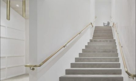 Interior Stairs Handrail Height Inspirational House Interior Stair with Handrails Tighten the Stair