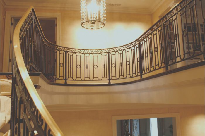 8 Cheerful Interior Stairs Railing Images
