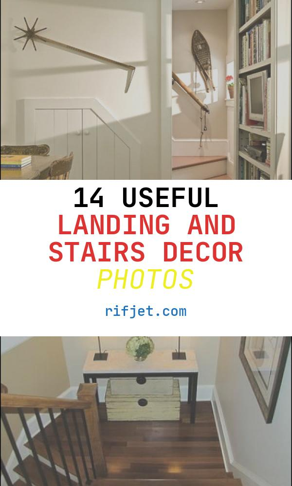 14 Useful Landing and Stairs Decor Photos