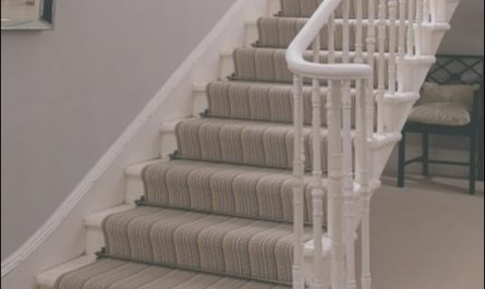 Landing and Stairs Ideas Awesome Replacing Carpet with A Stair Runner