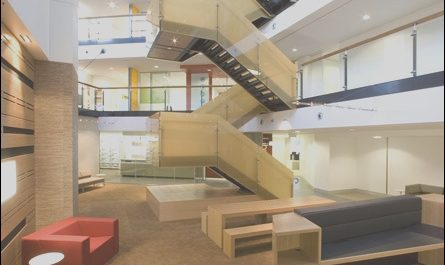 Lobby Stairs Design Fresh atrium Switchback Stair Stairs In 2019
