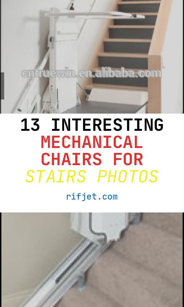 Mechanical Chairs for Stairs Elegant Hot Lift 250 Kg Load Chair Stair Lift Mechanical Side
