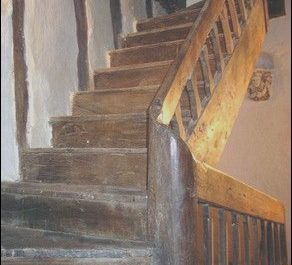 Medieval Engineers Wooden Stairs Fresh Staircase Into My Heart 17th Century Oak Staircase From