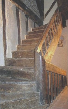 8 Remarkable Medieval Engineers Wooden Stairs Photography