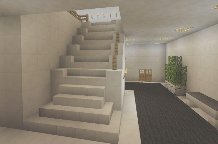 9 Conventional Minecraft Modern Stairs Collection