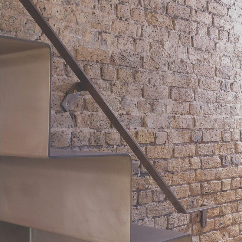 Minimalist Steel Stairs Inspirational This Minimalist Staircase is Made From 6mm Thick Folded