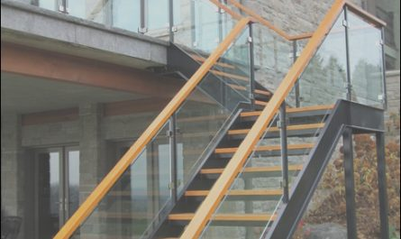 Modern Outside Stairs Elegant Iron Stairs Modern Patio toronto by Endeman S