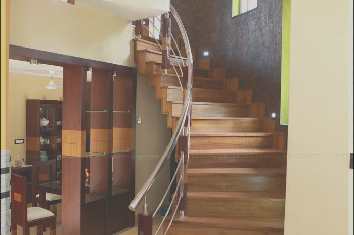 8 Decent Modern Staircase In Kerala Gallery