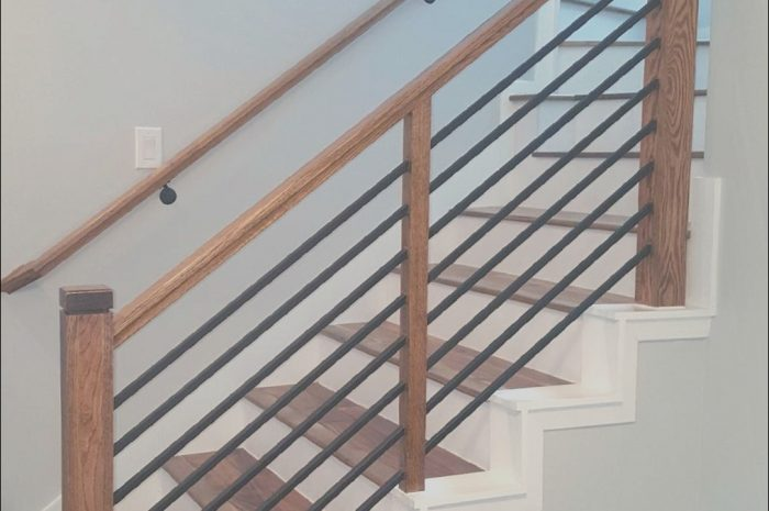 10 Appealing Modern Stairs Railing Gallery