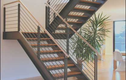 Modern Steel Stairs Lovely Steel Staircase Modern Staircase Seattle by Alcova