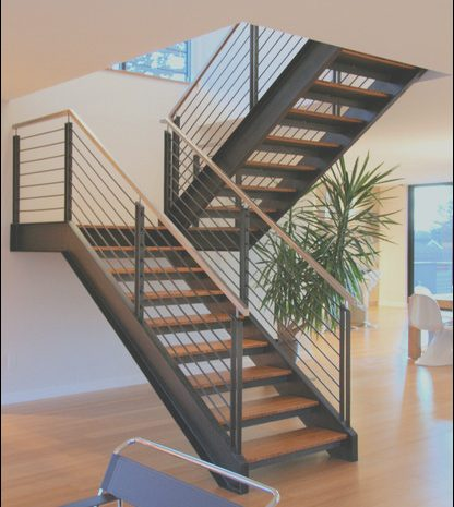11 Complete Modern Steel Stairs Photos