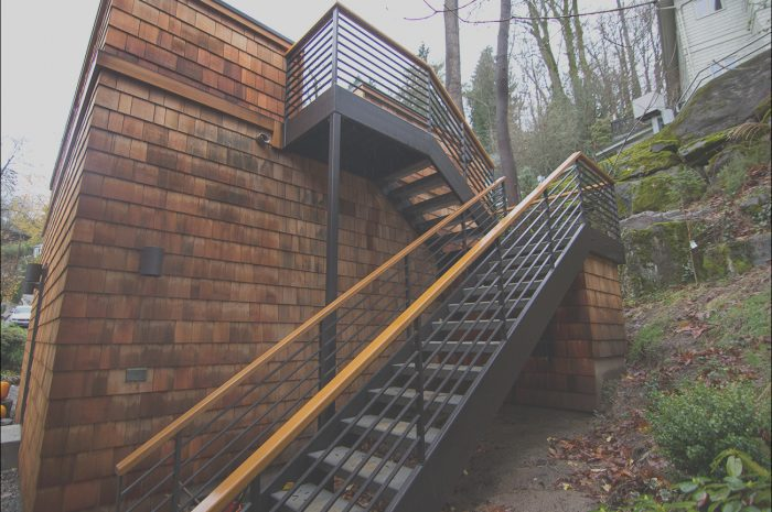 12 Expert Outside Metal Stairs Garage Photos