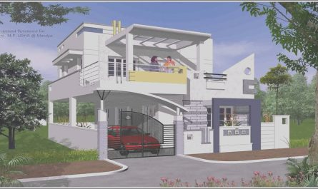Outside Stairs Design for Indian Houses Unique Indian House Exterior Staircase Design Gif Maker