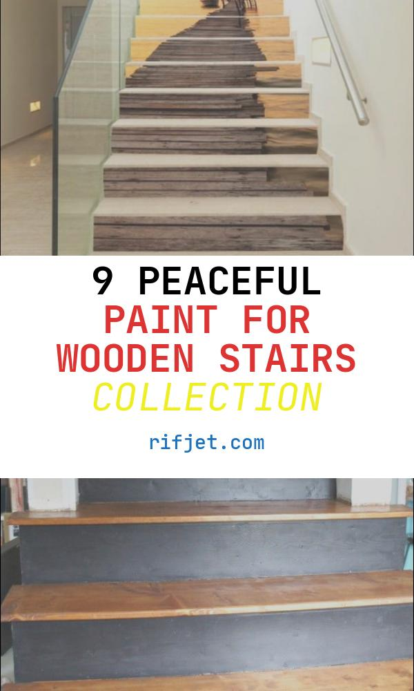 Paint for Wooden Stairs Fresh 20 attractive Painted Stairs Ideas