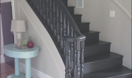 Painting Interior Stairs Black Awesome All Black or Stained Very Dark In 2019