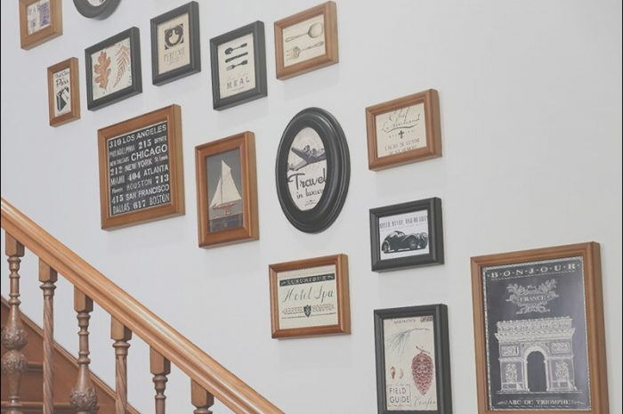 10 Delightful Photo Frame Sets for Stairs Collection