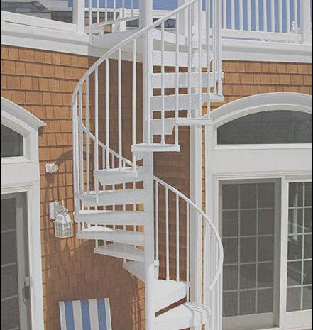 15 Acceptable Roof Deck Stairs Design Gallery
