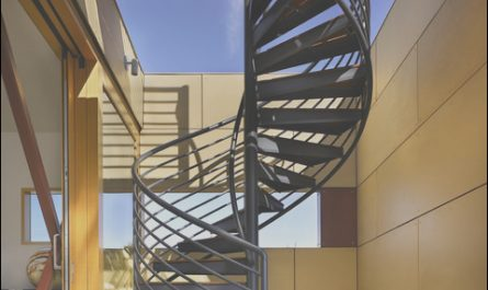 Roof Stairs Design Elegant Lake Union Floating Home Roof Deck Stair Modern