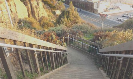 Santa Monica Stairs Parking Lovely Six Great Stair Treks to Help Work F Thanksgiving Dinner