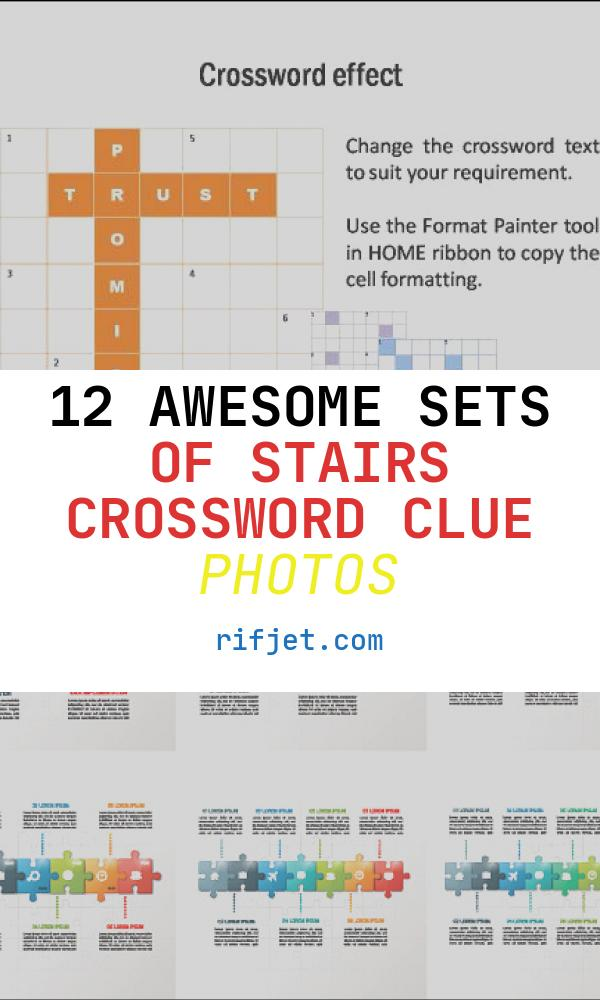 12 Awesome Sets Of Stairs Crossword Clue Photos