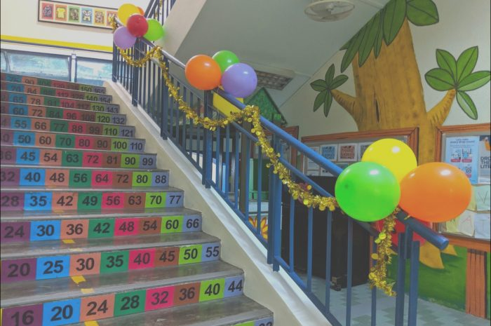11 Favorite Stairs Balloon Decor Stock