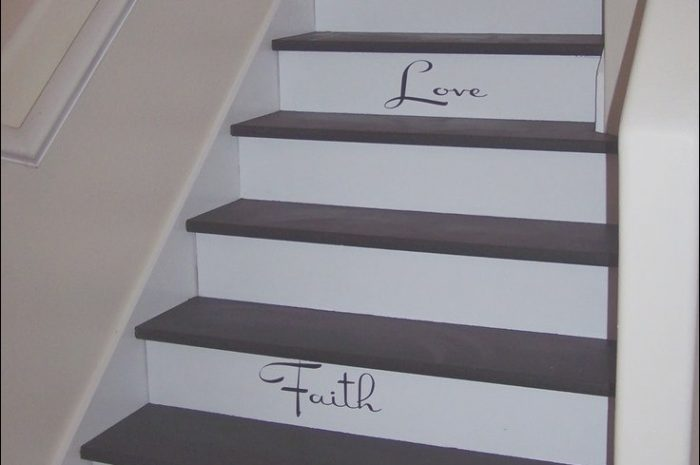 13 Lovely Stairs Border Design Stock
