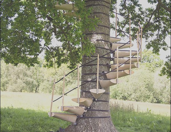 13 Elegant Stairs Canopy Zone Photography