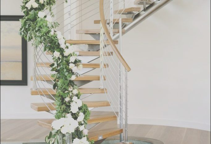 13 Special Stairs Decoration Wedding Gallery