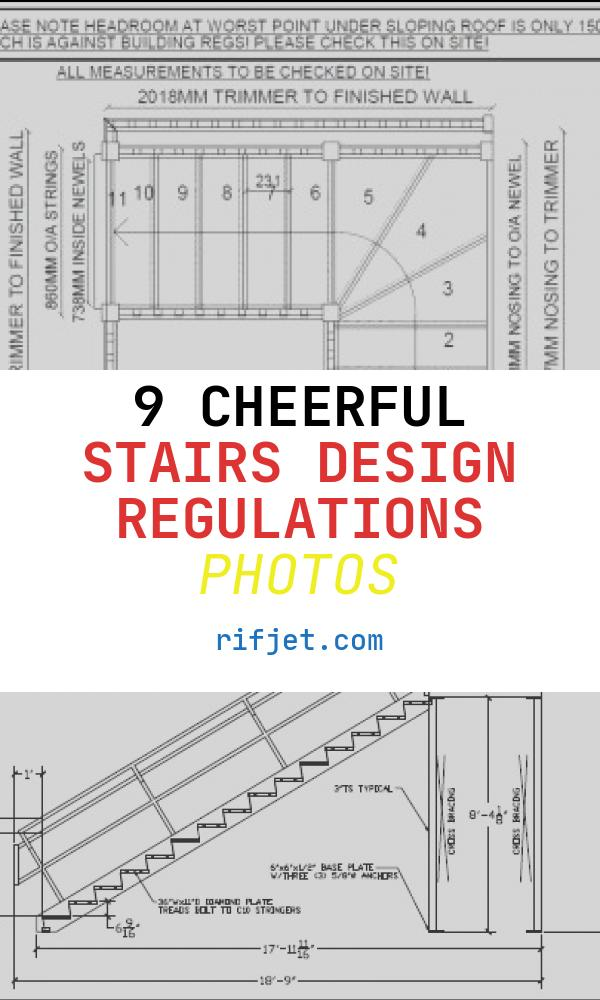 9 Cheerful Stairs Design Regulations Photos