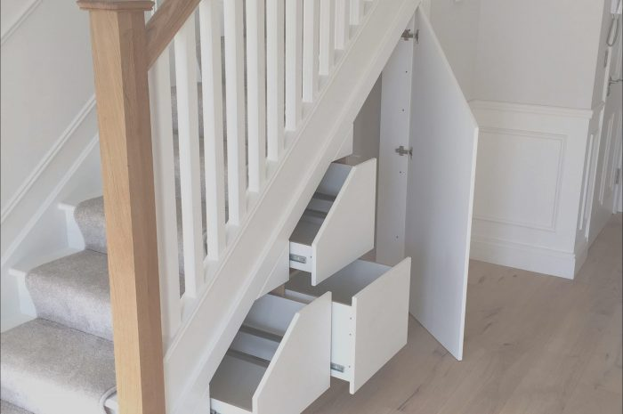 10 Amazing Stairs Design with Storage Images
