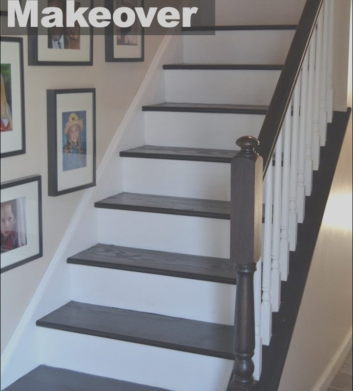 Stairs Diy Ideas Lovely Staircase Makeover Create and Babble