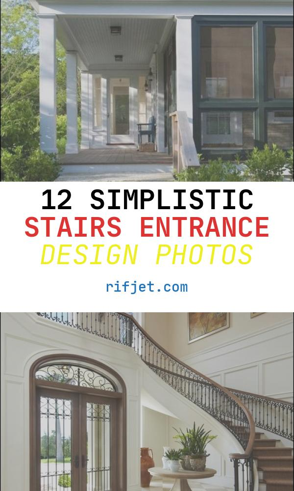 Stairs Entrance Design Beautiful Entrance Staircase Designs to Beautify Homes and Improve