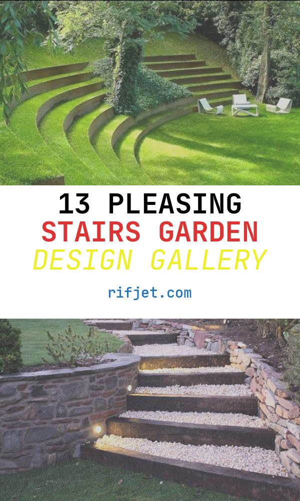 13 Pleasing Stairs Garden Design Gallery