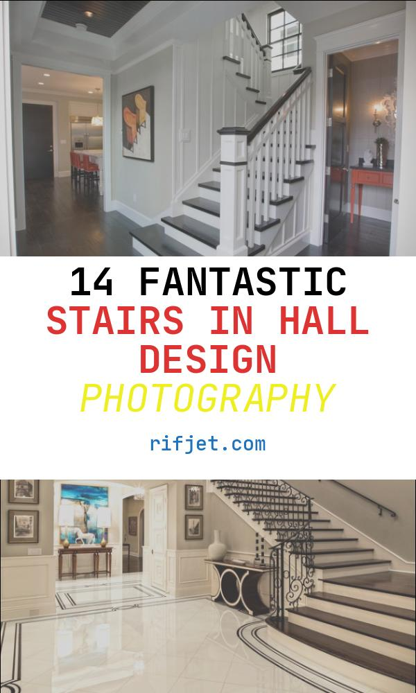 Stairs In Hall Design Beautiful Entry Hall Stairs and Powder Bath Traditional