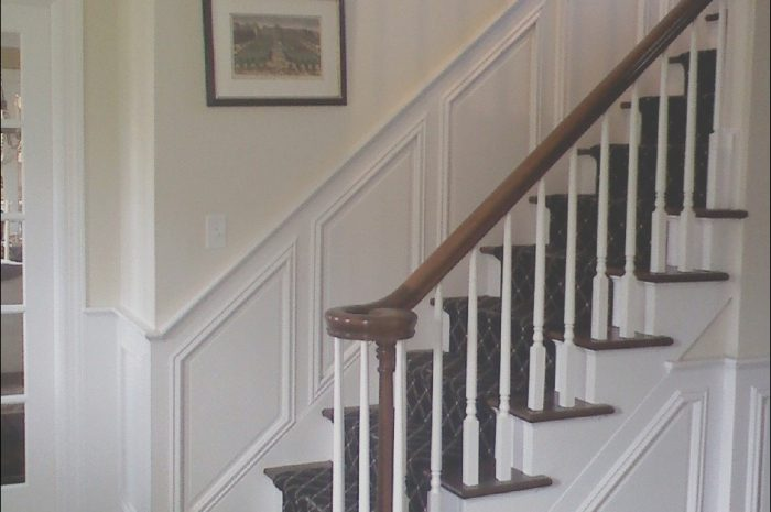 13 Excellent Stairs Panel Design Images