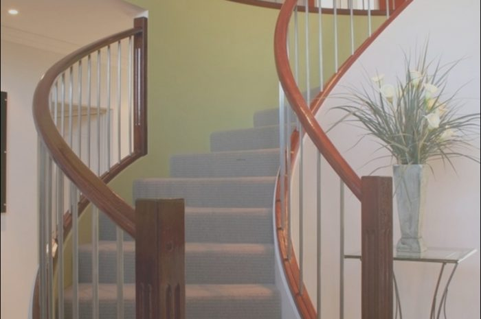 13 Fancy Stairs Railing Design Stock