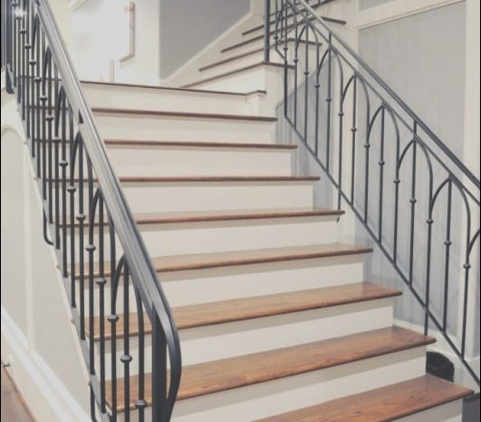 15 Incredible Stairs Railing Designs In Iron Images