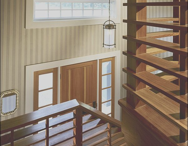8 Staggering Stairs Railing Designs In Wood Photos