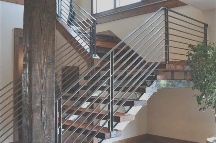 8 Adorable Stairs Railing Modern Photos