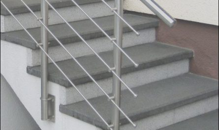 Stairs Steel Railing Design New Stainless Steel Handrail