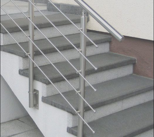 14 Authentic Stairs Steel Railing Design Stock