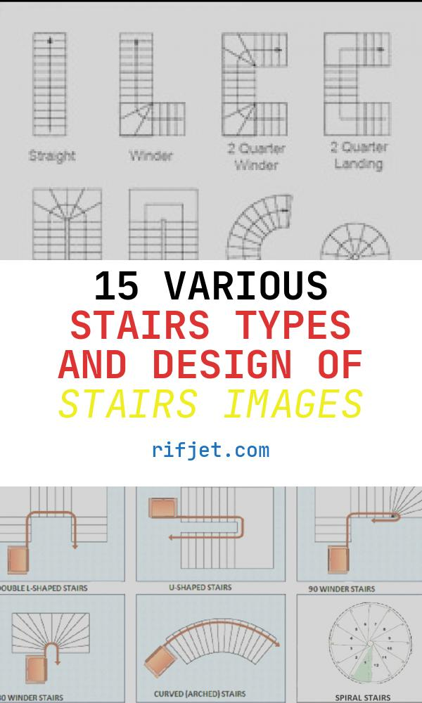 15 Various Stairs Types and Design Of Stairs Images