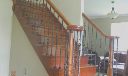 Stairs Wood Balusters Lovely Wood Stairs and Rails and Iron Balusters New Wood Stair
