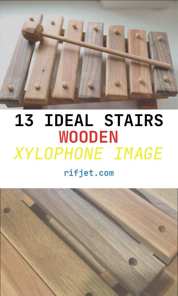 Stairs Wooden Xylophone Unique Xylophone 6 Steps with