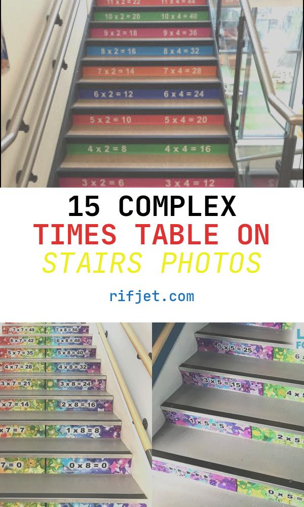 15 Complex Times Table On Stairs Photos