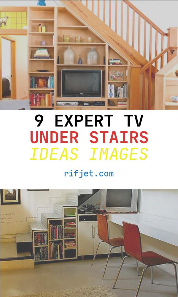 9 Expert Tv Under Stairs Ideas Images
