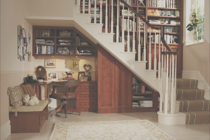 13 Excellent Under Stairs Study Table Image
