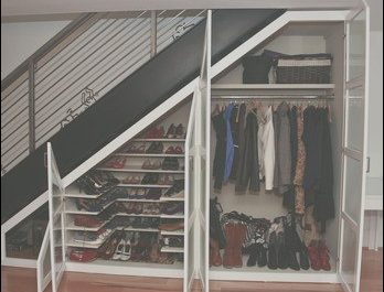 Under Stairs Wardrobe Ideas New Understairs Wardrobe and Shoe Closet