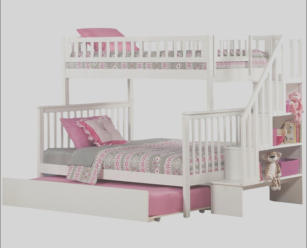 Wayfair Bunk Bed with Stairs Fresh atlantic Furniture Woodland Twin Over Full Bunk Bed with