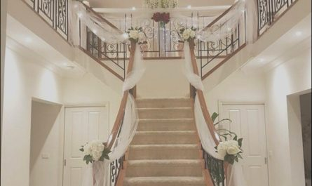 Wedding Decor for Stairs Lovely Wedding Preparation Staircase Decor